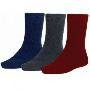 Mens natural-fibre socks