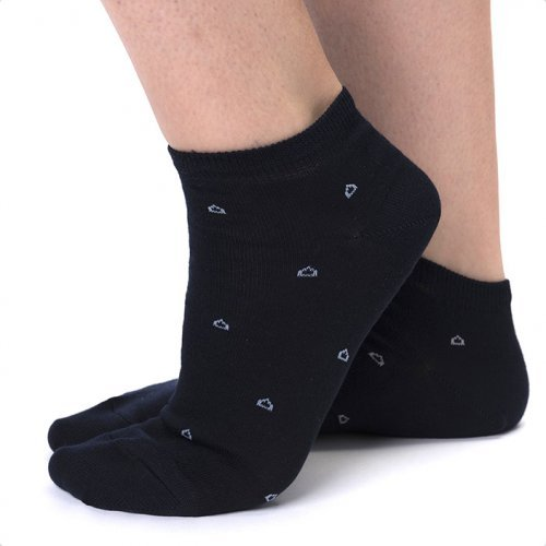 Woman natural-fibre socks
