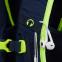 Zaino ergonomico Satch Match Toxic Yellow per la scuola secondaria in Pet Riciclato