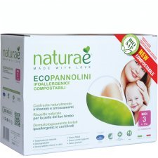 Diapers Naturaè® MIDI 4-9 kg, 22 pz
