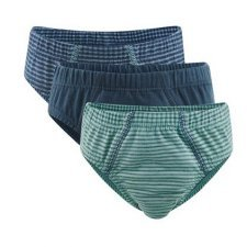 Boys slip in organic cotton - 3 pc