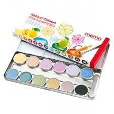 Acquerelli con 12 colori naturali