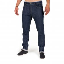 Active jeans dark denim in organic cotton