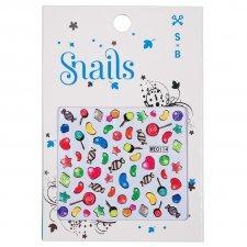 Adesivi per unghie Snails Candy Blast