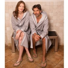 Adults Spa bathrobe in organic cotton