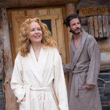 Adults bathrobe