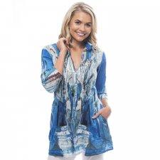Morocco long shirt in organic cotton