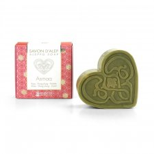 Aleppo ASMAA soap scented with Rose and Ylang Ylang