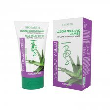 Lozione sollievo gambe all'Aloe Biearth The Beauty Seed