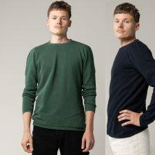 YUVA pique pullover for men in Fairtrade Organic Cotton