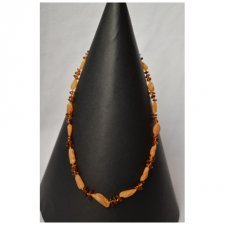 Amber adult necklace nr. 7
