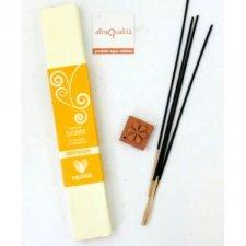 Amber Incense + incense holder Fairtrade
