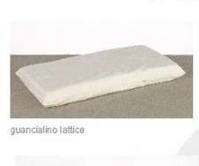 Anti-choking infant pillow in latex
