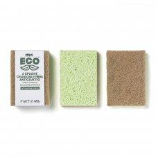 Anti-scratch cellulose sponges - 2 pcs