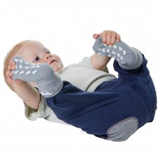 Anti-slip ABS socks kids children alpaca wool