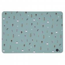 Anti-slip table mat in silicone Polar