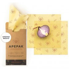 Apepack Duo M 2 pcs 25x25 cm - organic cotton  and beeswax food film