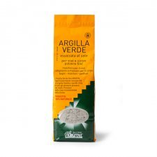 Argilla verde essicata al sole