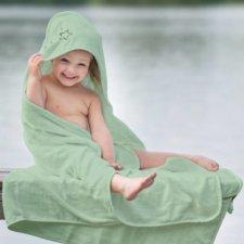 Asciugamano con cappuccio Stars in cotone biologico