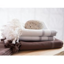 Asciugamano Hamam grande in cotone biologico