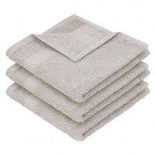 Asciugamano ospite quadrato in cotone bio Ege Organics