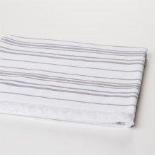 Asciugamano Sauna grande bianco in cotone biologico
