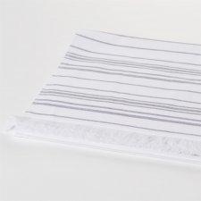 Asciugamano Sauna bianco in cotone biologico