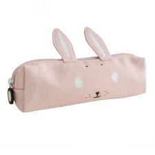 Astuccio per bambine Signora Coniglio in tela robusta di puro cotone
