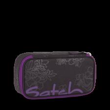 Astuccio Purple Hibiscus per la scuola in Pet Riciclato Equo Solidale
