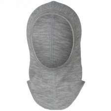 Baby balaclava Engel in organic wool and silk