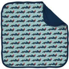 Blanket Race Cars in organic cotton
