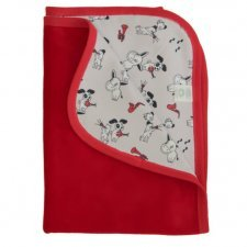 Baby blanket in organic cotton velvet The Bremen Town Musician