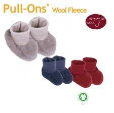 Baby botts in organic wool fleece Popolini
