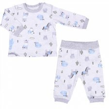 Baby boy pajama in organic cotton