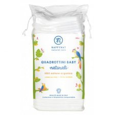 Baby cotton pads in organic cotton