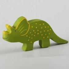 Baby Dinos in caucciù naturale Triceratopo