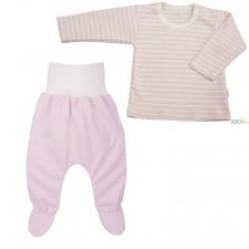 Baby girl 2 pieces striped set
