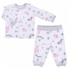 Baby girl pajama in organic cotton