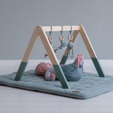 Baby gym Ocean Mint in wood