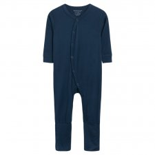Baby jumpsuit in bamboo - Blue