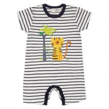 Baby romper Tiger in organic cotton Sense Organics