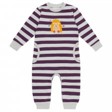 Baby Stripes Bodysuit Romper in Organic Cotton
