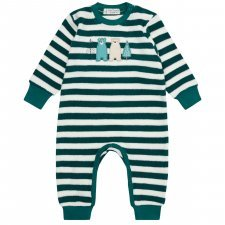 Baby terry romper Bears in organic cotton
