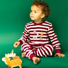 Baby terry romper Fawn in organic cotton
