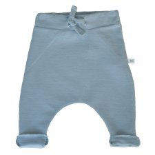 Baby trousers Blue in bamboo