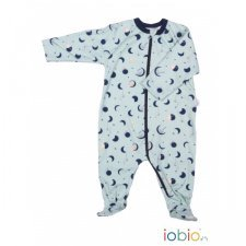 Babysuit Moon Monkeys with zip