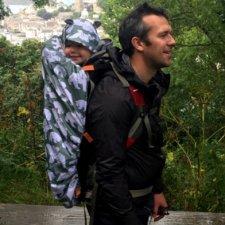 Babywearing raincover BundleBean