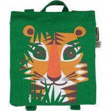 Backpack Mibo Tiger in organic cotton