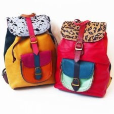 Backpack Soruka stampa Animalier