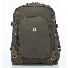 Backpack with external zip PURE HF in hemp